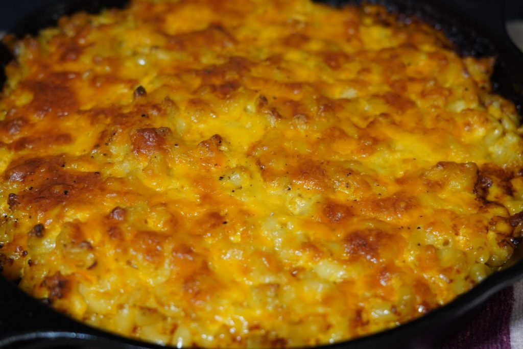 Macaroni and Cheese Cast Iron